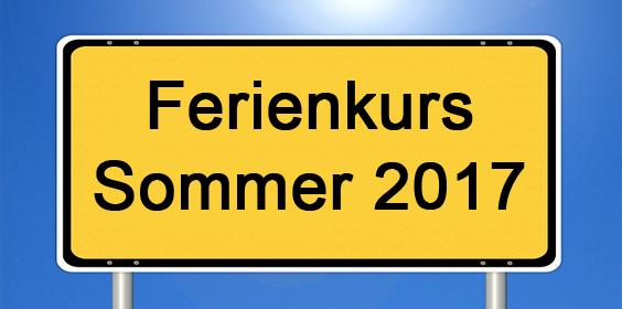 Ferienkurs Sommer2017